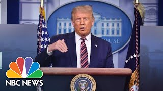 Live: Trump Holds News Conference At The White House | NBC News