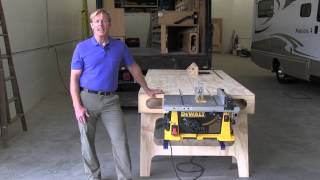 Designer/Builder Ron Paulk tells us the story of the Paulk Workbench