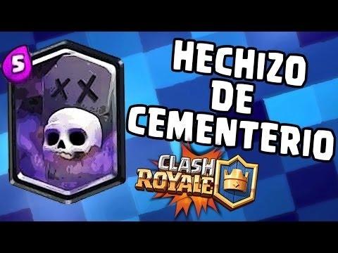 Jugando Con La Nueva Legendaria El Cementerio Clash Royal