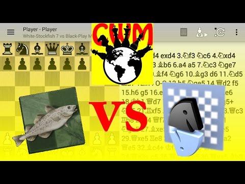Stockfish 7 vs Shredder 2600 (mobile max) FULL HD