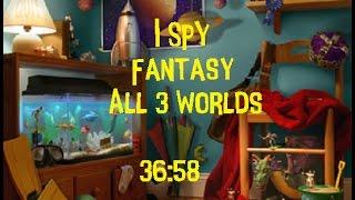 I SPY Fantasy All 3 Worlds Round 1 WR 36:58