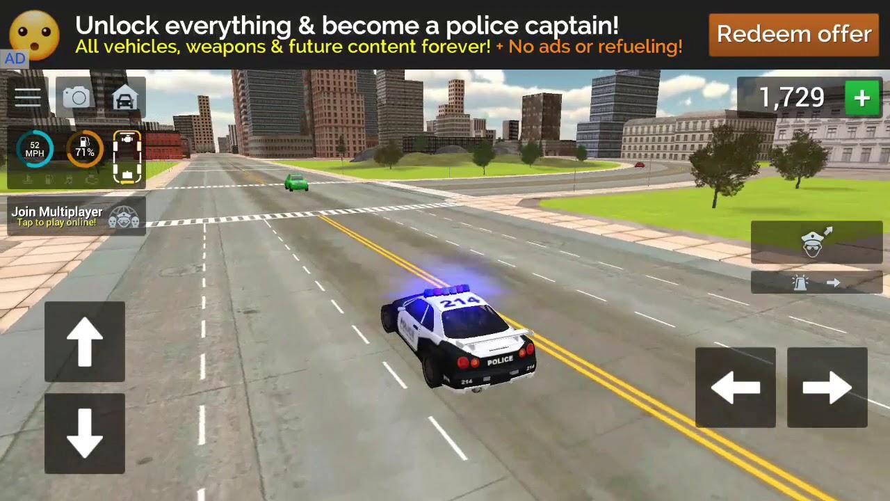 ??Simulator Real De Conducere Masini De Politie 3D - Jocuri Pe Android