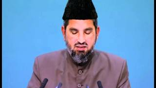 Urdu speech- 2.Day 2.Ses. Jalsa Salana 2012 Germany-The farewell speech of the Holy Prophet saw