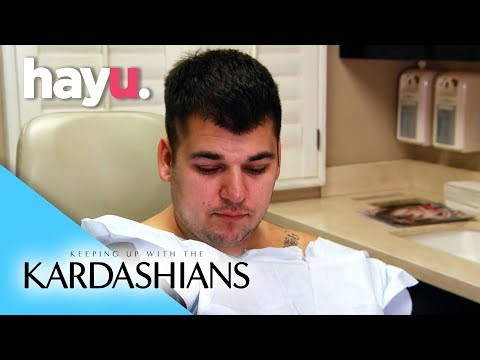 Rob Breaks Down Over Weight Gain | Keeping Up With The Kardashians