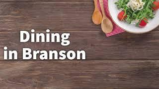 Dining in Branson