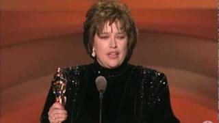 Kathy Bates winning Best Actress