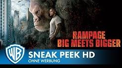 RAMPAGE – BIG MEETS BIGGER - 8 Minuten Sneak Peek Deutsch HD German (2018)