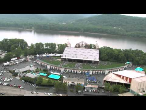 Riverbend Music Center Fly-By Over the New Lawn!!!