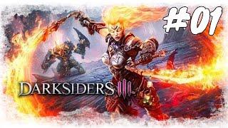 Lets Play Darksiders 3 #01 / Finde die Sieben Todsünden / Gameplay (PS 4 Deutsch German)
