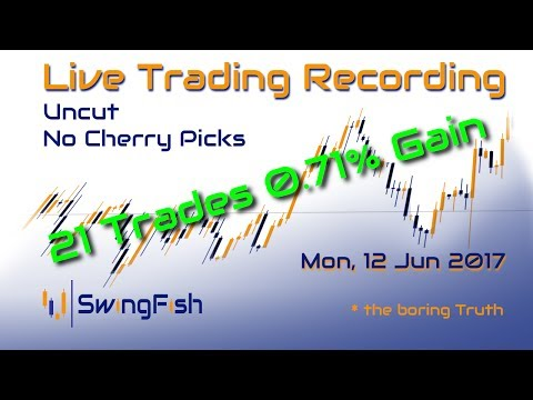 Live-Trading Forex [Mon, 11 June 2017   +0.71%   21 Trades]