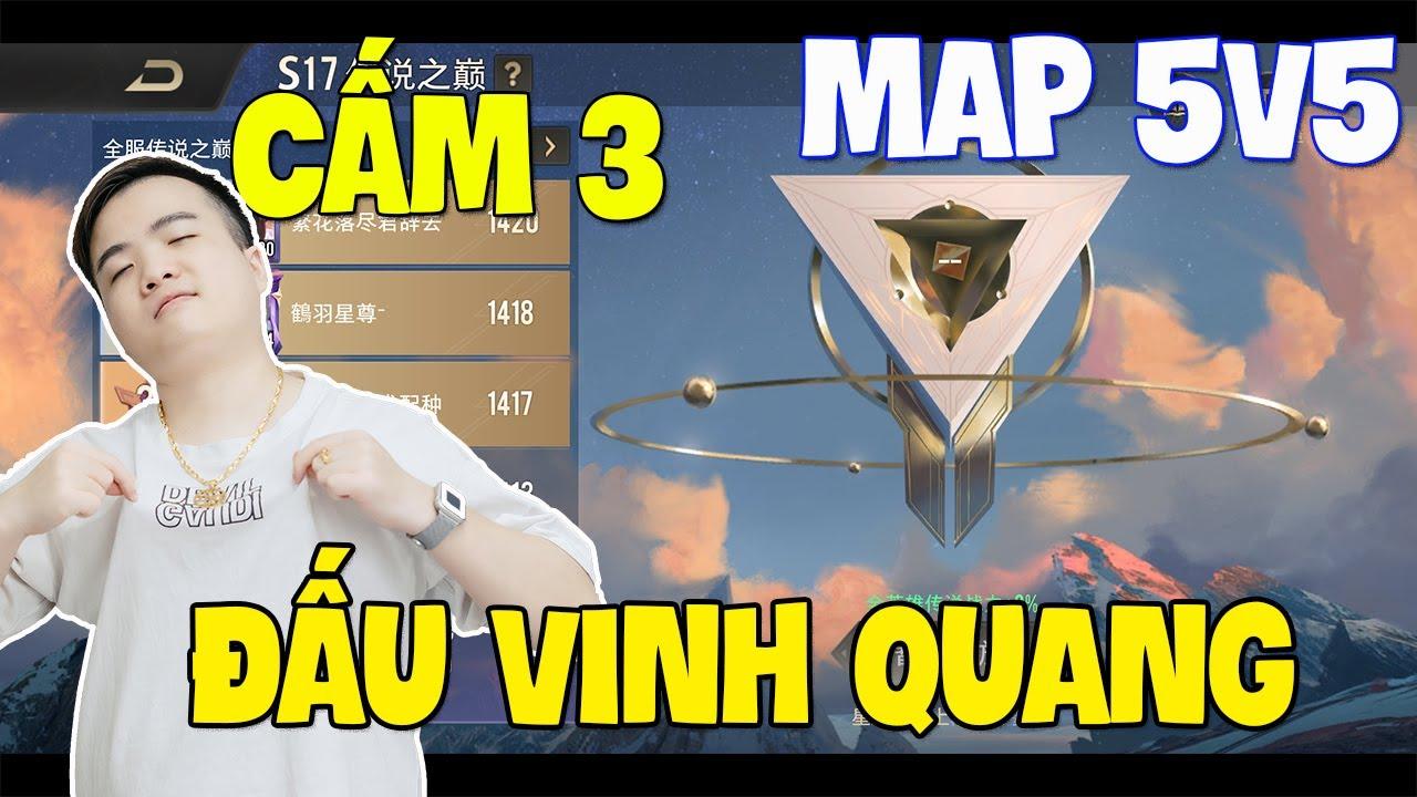 Liên quân ra mắt Rank Cấm 3 Đấu Vinh Quang + Map 5v5 Phiên bản mới cập nhật tháng 10 [bản chính] TNG