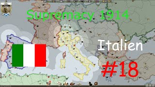 Supremacy 1914 #18 (deutsch) - Italien (Europakarte)