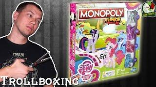 monopoly junior my little pony   unboxing   gttv