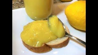 ЛИМОННАЯ ВКУСНЯТИНА к чаю. Обожают Все! Лимонный Курд. Американская Кухня. Lemon Cream, Kurd.
