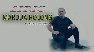 LIRIK MARDUA HOLONG omega trio lagu batak