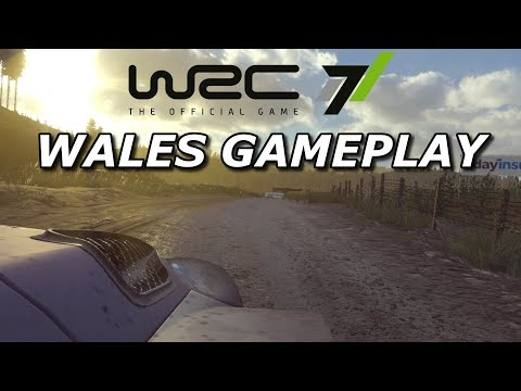 WRC 7 | EARLY WALES GAMEPLAY | Xbox One