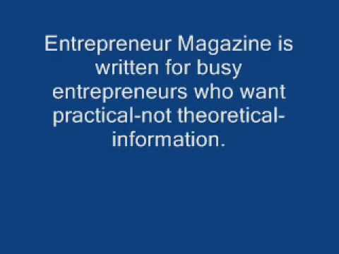 Entrepreneur Magazine - 3 Years / 36 Issues