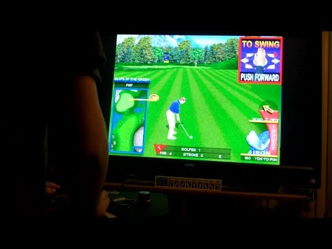 Golden Tee Fore! Games on MAME with X-Arcade Trackball