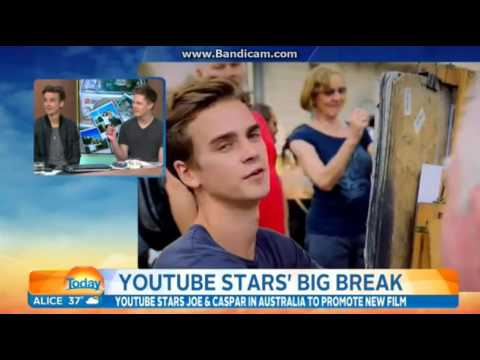 Joe Sugg and Caspar Lee on Today Show Australia