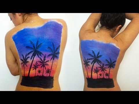 Sunset Back Speed Painting  // Haley Ivers