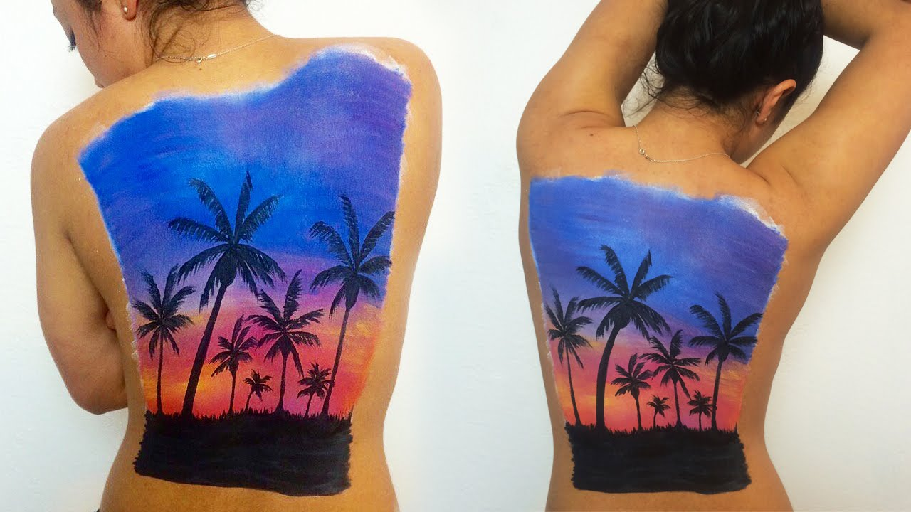Body Paint Cover Up