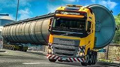 ETS 2: XXL-Schwertransport - das 83-Tonnen-Silo!  | EURO TRUCK SIMULATOR 2