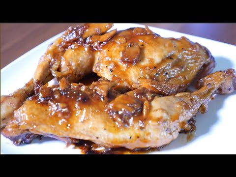 Caramelized Chicken Recipe With Apricot Jam