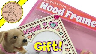 Decorate Your Own Wood Frame Diy Kit - Secret Admirer Gift!