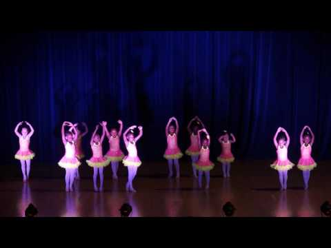 Kenwood School of Ballet - June 2016 Ballet I/II Class Ages 4-6 years
