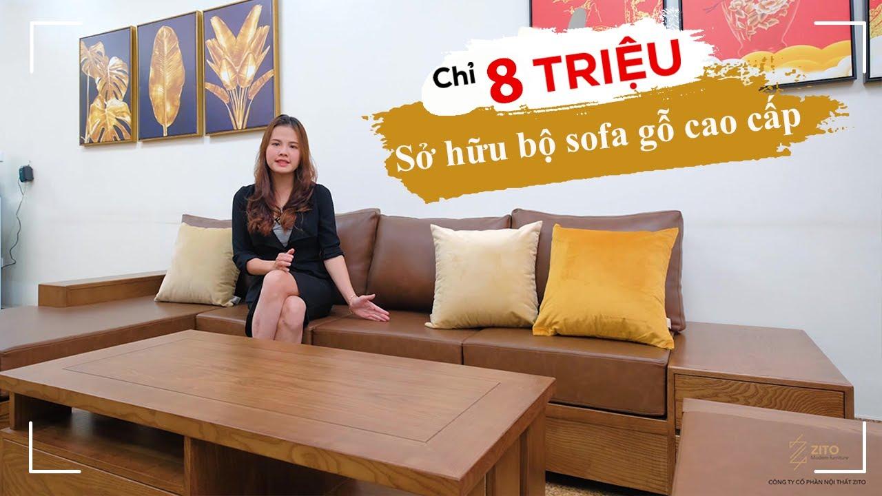 Sở hữu combo bàn ghế sofa gỗ tự nhiên cao cấp chỉ với 8 triệu đồng! | Salon và các thông tin mới nhất