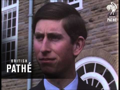 Prince Charles At Aberystwyth 1969 Youtube