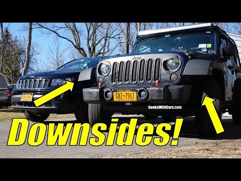 Downsides of Daily Driving a Jeep Wrangler Unlimited | Cons of Daily Driving a Jeep Wrangler