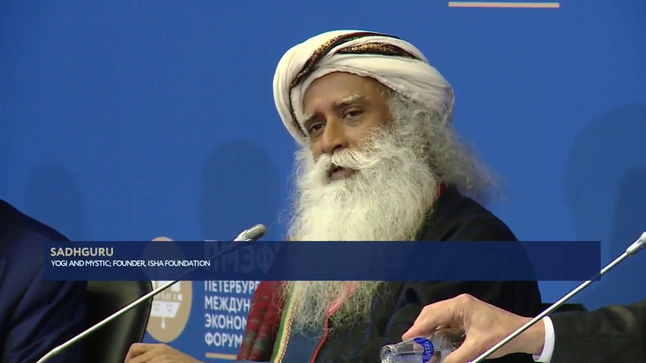 Sadhguru SPIEF '18 - A new Philanthropic ecosystem to underpin sustainable social development