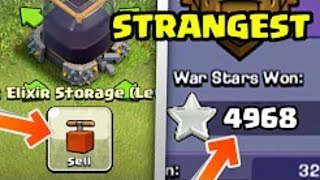 Top 3 STRANGEST Players In Clash of Clans (Rare & Creepy!) HINDI Part-1