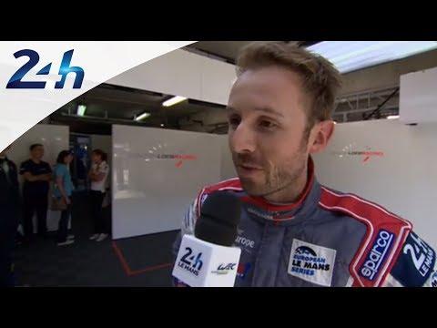 Le Mans 2014 - Rene Rast, pilote de la ORECA 03-Nissan n°24