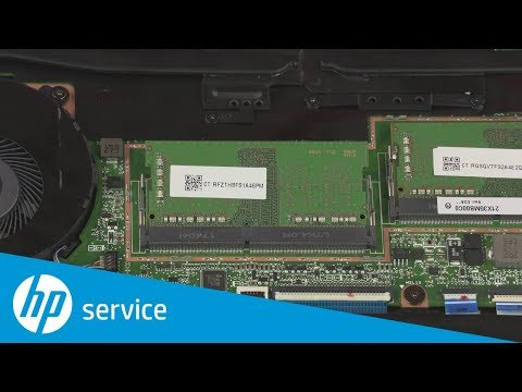 Replace the Memory Module(s) | HP Spectre x360 15 Convertible | HP
