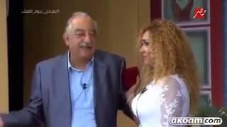 ندي بهجت في مسرحية كدب في كدب مع سمير غانم