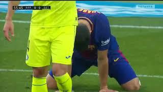 Resumen Barcelona vs Getafe 0-0 La Liga 11/02/2018⚽