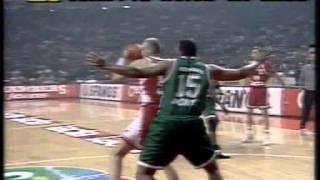 Greek Basketball League 1996-1997 Olympiakos vs Panathinaikos