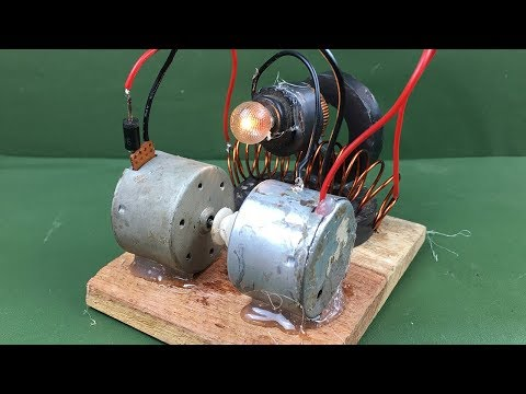Awesome diy science technology project - Free energy generat