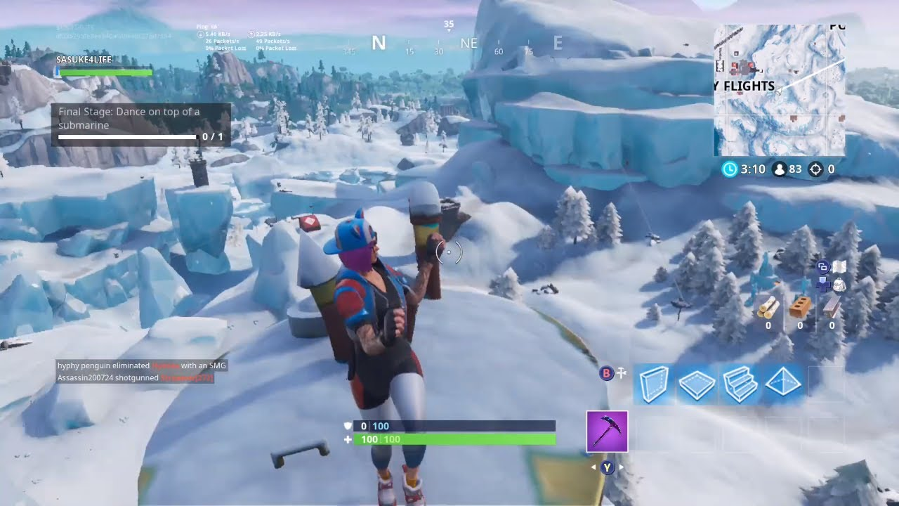 Fortnite Dance On Top Of A Submarine Location Guide Season 7