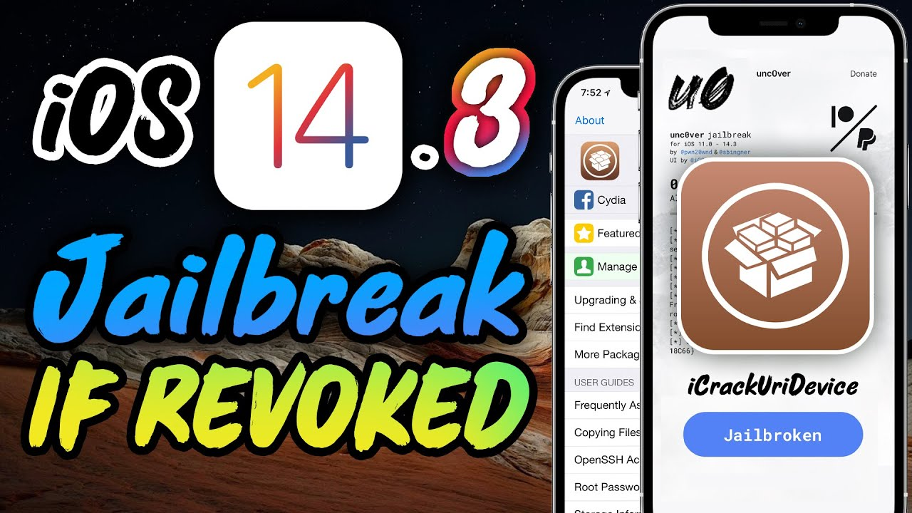 Download NEW Jailbreak iOS 14 - How to Install REVOKED Unc0ver iOS 14.3 Jailbreak!