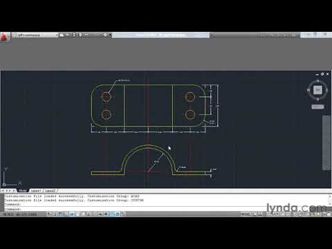 how-to-customize-autocad's-ribbon-and-panels-|-lynda.com-tutorial