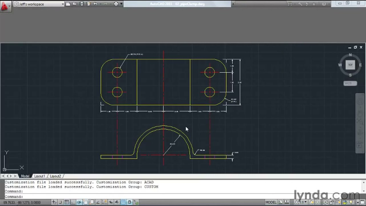 How to customize AutoCAD's ribbon and panels | lynda com tutorial