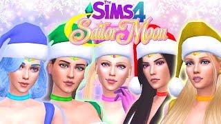 The Sims 4- Holiday Sailor Moon| CAS