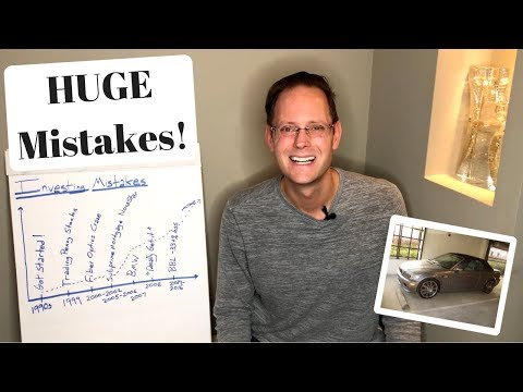 My TOP 5 Biggest Investing MISTAKES (Stock Market & Money Mi