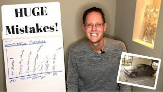 My TOP 5 Biggest Investing MISTAKES (Stock Market & Money Mistakes To Avoid)