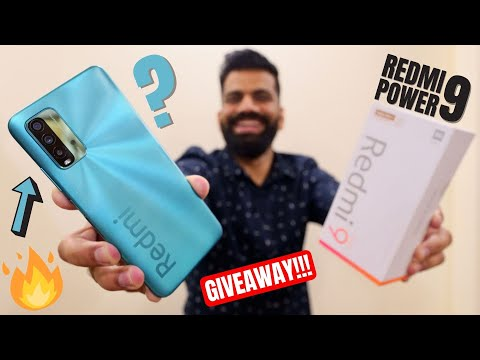 Redmi 9 Power Unboxing & First Look - Most POWERful Budget Phone??? GIVEAWAY