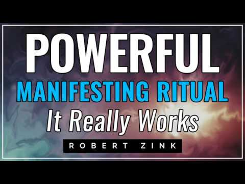 Powerful Manifesting Ritual - IT REALLY WORKS
