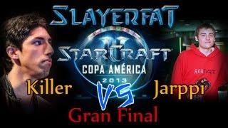 starcraft 2 Copa America 2013 FINAL TvZ CG Killer vs ROH Jarppi